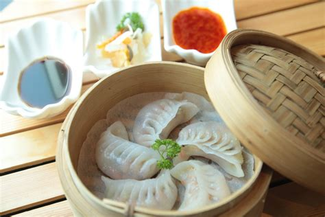 Keranjang Dimsum gambar restoran makanan laut keranjang gourmet makan