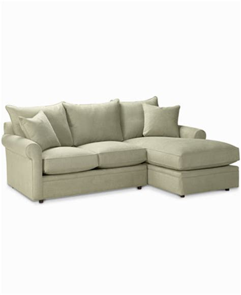 Doss 2 Piece Fabric Microfiber Sectional With Chaise Microfiber Sectional Sofa With Chaise