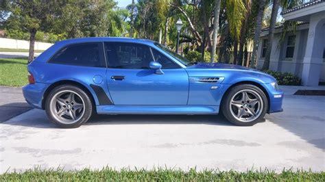 bmw z3 m coupe 2000 bmw z3 m coupe in estoril blue