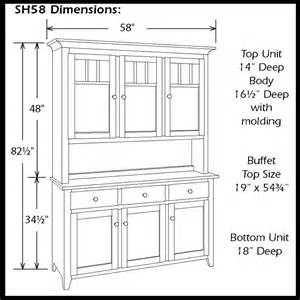 Dining Room Cabinet Dimensions China Hutch Dimensions Mid Century China Cabinet Hutch