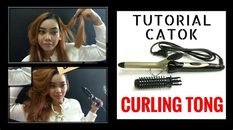 tutorial catok rambut hair tutorial 3 cara catok curly rambut baday catok
