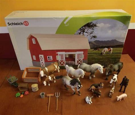 schleich scheune 42028 schleich cow shop collectibles daily