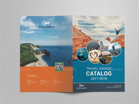travel agency brochure catalog template by al mamun