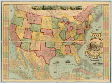map of the united states zoomable american union railroad map of the united states haasis
