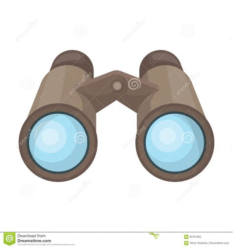 safari binoculars clipart binoculars for observation safari single icon in