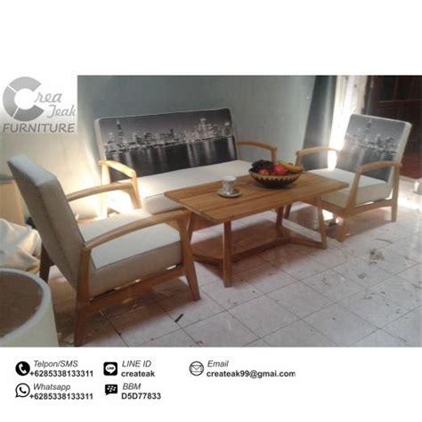 Kursi Jakarta Vintage set kursi tamu vintage skandinavia createak furniture