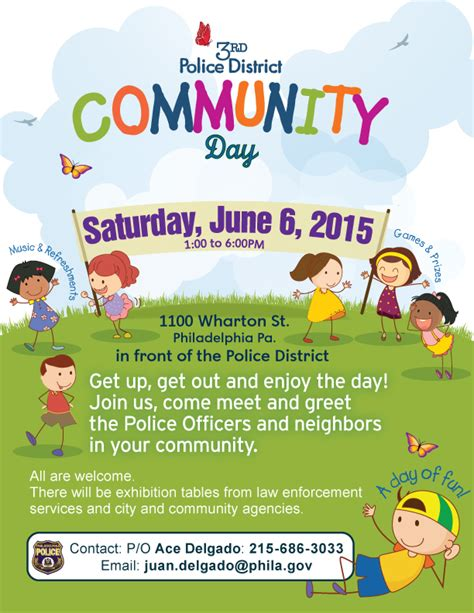 coming soon 3rd police district community day lower