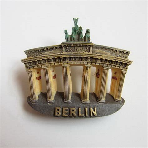 Souvenir Germany Magnet Kulkas Germany aliexpress buy germany berlin brandenburger tor shaped fridge magnets world scenery