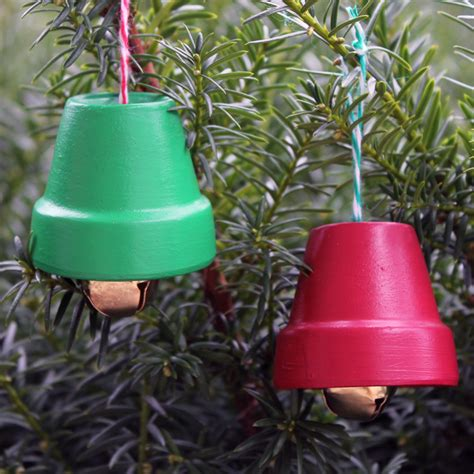 terra cotta bells diy christmas ornaments the country