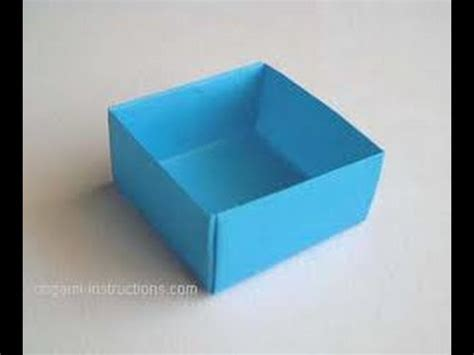 How To Make A Box Out Of Paper Origami - how to make a paper box