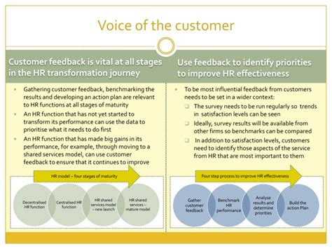 voice of the customer template hr voice of the customer