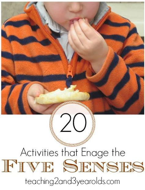 Activities The O Jays And - activities using the five senses the o jays kid