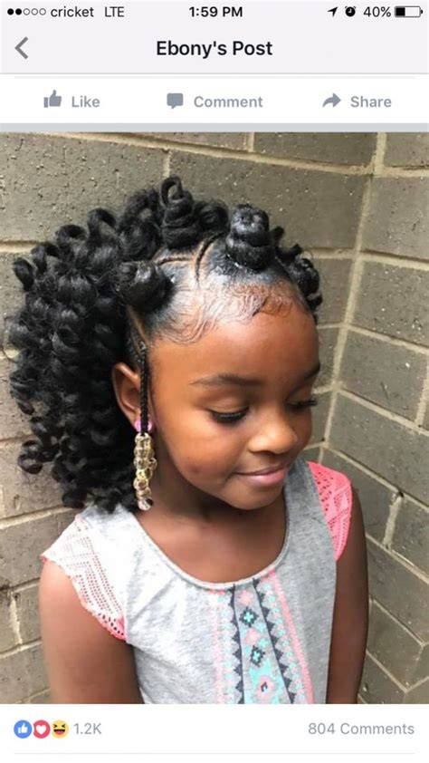 Hairstyles ~ Best 25 Black Kids Hair Ideas On Pinterest
