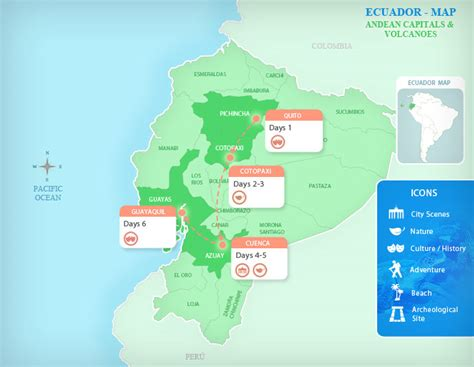 ecuador packages andean capitals volcanoes
