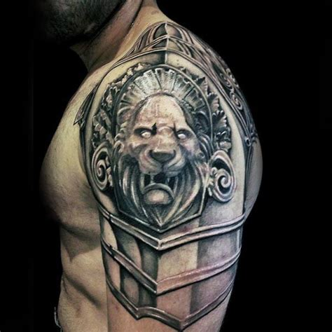 cool arm tattoo ideas for guys armor plate cool ideas for guys tattoos