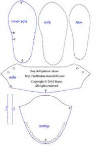 doll shoes pattern ag doll pinterest