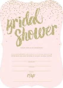 Blank Bridal Shower Invitations Templates blank bridal shower invitations badbrya