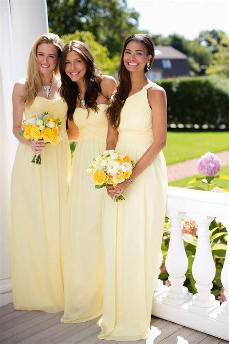 light yellow bridesmaid dresses light yellow wedding dress imgkid com the image