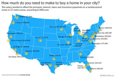 how much i need to make to buy a house economicpolicyjournal com how much money do you need to make to buy a home in your city