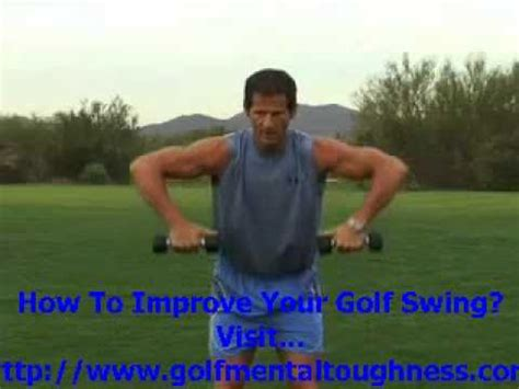 shoulder to shoulder golf swing golf shoulder exercises to improve backswing and prevent