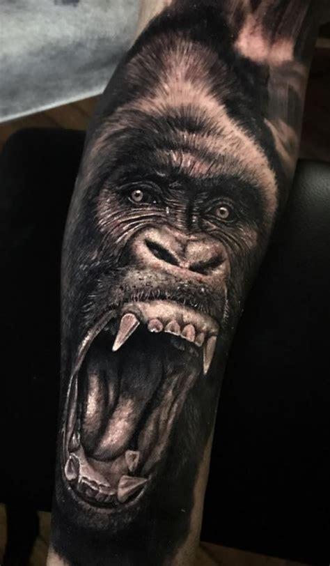 gorilla tattoo meaning 30 unique animal designs tattoos