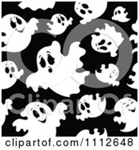 black ghost pattern royalty free rf ghost pattern clipart illustrations