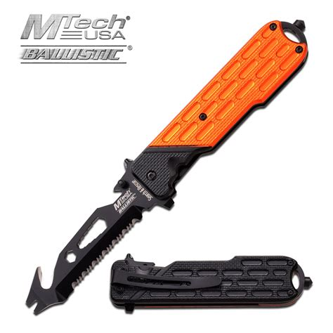 assist pocket knife assist folding pocket knife mtech orange bottle