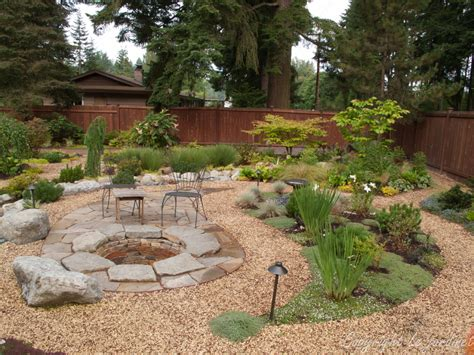 backyard gravel ideas garden adventures for thumbs of all colors patio design
