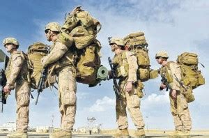 what do marines carry in their packs what do soldiers carry and what s its weigh protonex