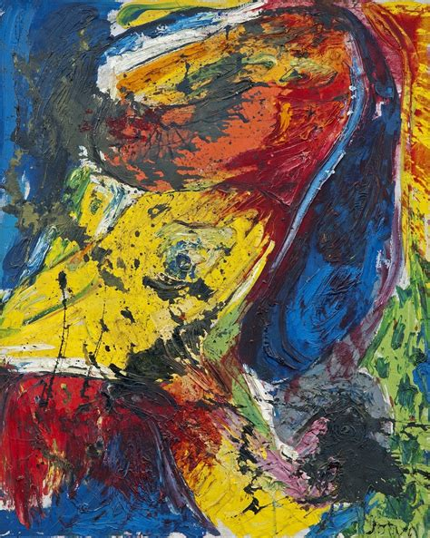 Drawing Or Painting by Exposition Asger Jorn