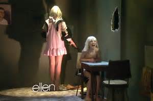 Sia Sia Chandelier Shy Sia Performs Chandelier On Ellen Video Billboard