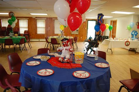 Boston Baby Shower by Boston Sox Table Sports Theme Joey S