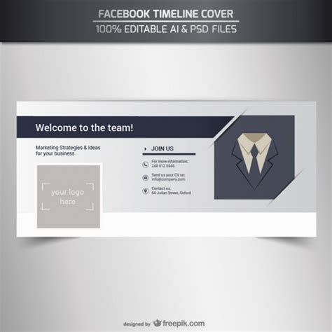 timeline cover template psd business timeline cover vector free
