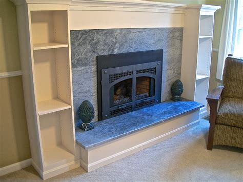 Home Decor Boston soapstone mantle and fireplace