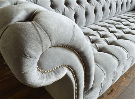grey velvet chesterfield sofa naples silver grey velvet 4 seater chesterfield sofa