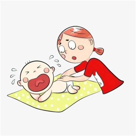 imagenes de niños llorando animadas 卡通妈妈和哭闹的宝宝素材图片免费下载 高清png 千库网 图片编号8639050