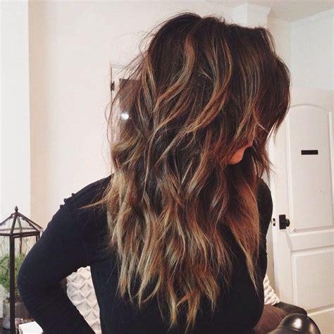 pin on long wavy layered hairstyles