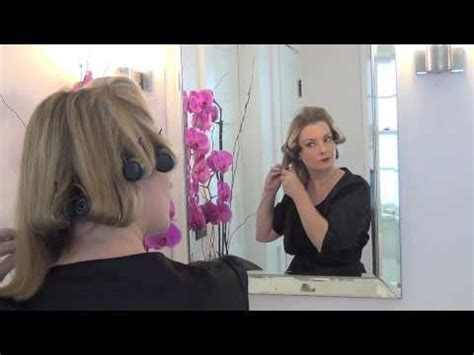 70s hair using hot rollers how to achieve a 1950s hair style using hot rollers the