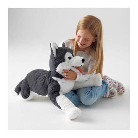 husky stuffed animal ikea