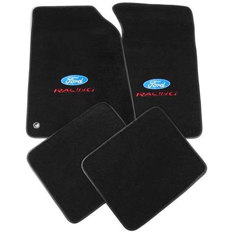 Ford Mustang Mats - 1999 04 ford mustang acc floor mats with ford racing logo