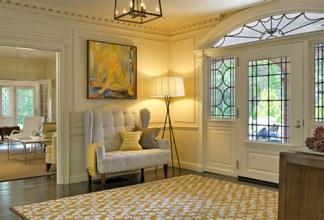 Admiral's House   Transitional   Entry   Boston   by Meyer & Meyer, Inc. Architecture and Interiors