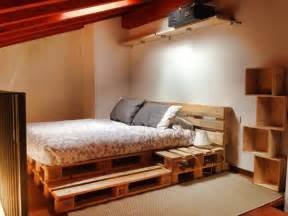 Bed Frame Made From Pallets 12 Diy Recycled Pallet Bed Ideas Diy And Crafts