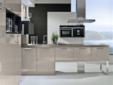 Best Colour For Kitchen Cabinets by Cashmere Gloss Lacquer Kitchens