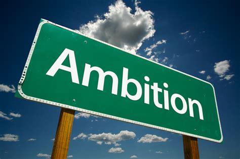 limit   ambition