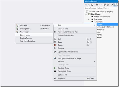design application visual studio creating django application with python in visual studio