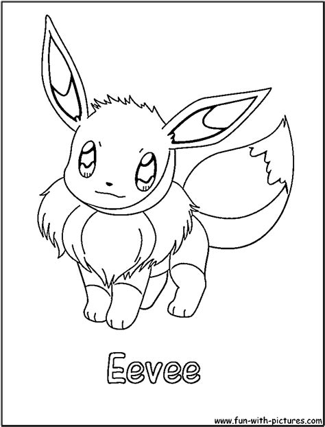 coloring pages eevee pokemon coloring pages eevee evolutions coloring home