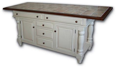 amish kitchen island roseburg island with five drawers and two doors from