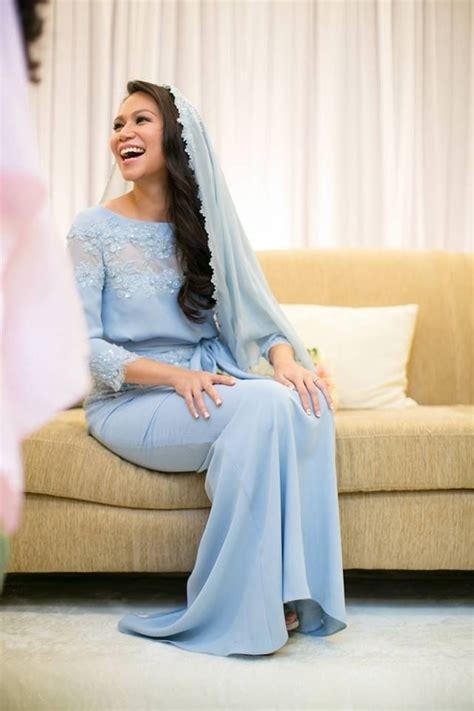 Koko Anak Azka Mazaya Light Blue 78 best kurung kebaya dresses by malaysian