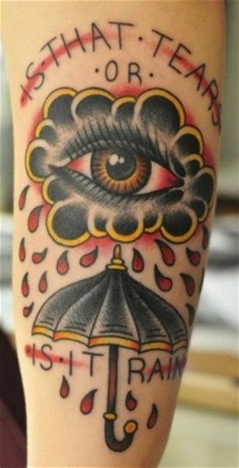 tattoo umbrella eye is that tears or rain tattoos pinterest ink rain