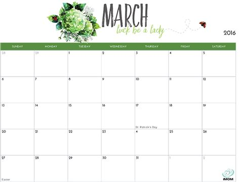 printable calendar imom 2016 printable calendar for moms imom